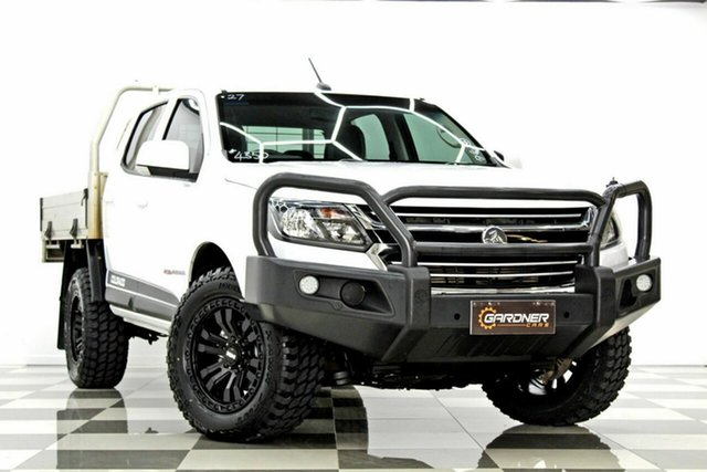 Used Holden Colorado RG MY17 LS (4x4) Burleigh Heads, 2017 Holden Colorado RG MY17 LS (4x4) White 6 Speed Manual Crew Cab Chassis