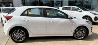 2020 Kia Rio YB MY21 Sport Clear White 6 Speed Automatic Hatchback