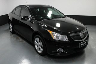 2013 Holden Cruze JH Series II MY14 Equipe Black 5 Speed Manual Sedan.