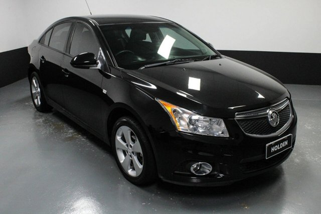 Used Holden Cruze JH Series II MY14 Equipe Cardiff, 2013 Holden Cruze JH Series II MY14 Equipe Black 5 Speed Manual Sedan