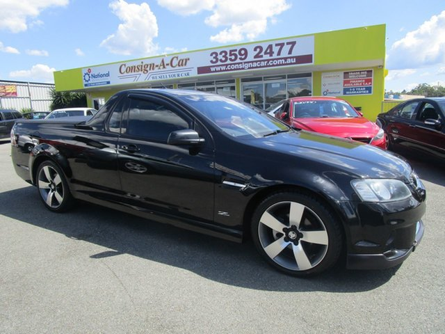 Used Holden Ute VE II MY12.5 SV6 Z Series Kedron, 2013 Holden Ute VE II MY12.5 SV6 Z Series Black 6 Speed Manual Utility