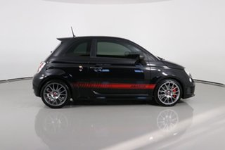 2016 Abarth 595 MY16 Competizione Black 5 Speed Automated Manual Hatchback