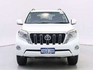 2014 Toyota Landcruiser Prado KDJ150R MY14 GXL (4x4) White 6 Speed Manual Wagon.