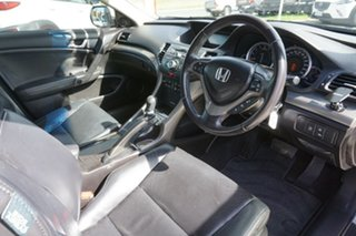 2008 Honda Accord Euro CU Luxury Silver 5 Speed Automatic Sedan