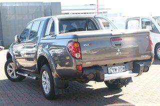 2010 Mitsubishi Triton MN MY11 GLX-R Double Cab Gunmetal 5 Speed Sports Automatic Utility.