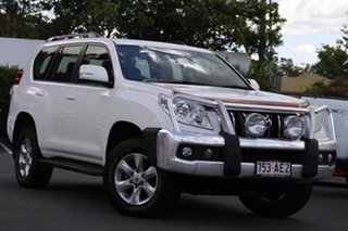 2011 Toyota Landcruiser Prado KDJ150R GXL White 5 Speed Sports Automatic Wagon