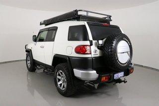 2015 Toyota FJ Cruiser GSJ15R MY14 White 5 Speed Automatic Wagon