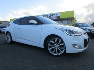 2014 Hyundai Veloster FS4 Series II Coupe D-CT White 6 Speed Sports Automatic Dual Clutch Hatchback