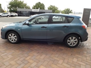 2011 Mazda 3 BL10F1 MY10 Neo Gunmetal Blue 6 Speed Manual Hatchback