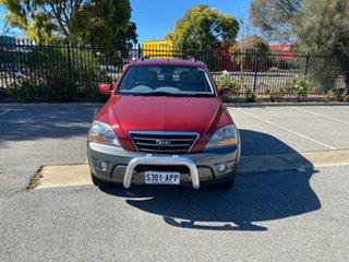 2007 Kia Sorento BL MY08 EX-L Red 5 Speed Sports Automatic Wagon.