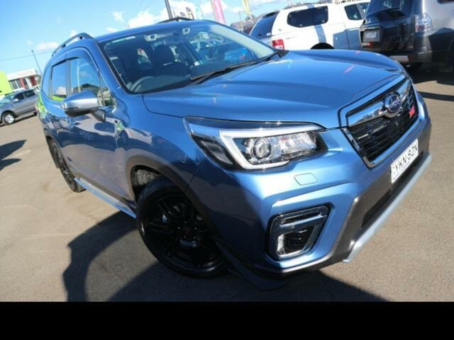Used Subaru Forester MY20 2.5I-S (AWD) Kingswood, 2019 Subaru Forester MY20 2.5I-S (AWD) Blue Continuous Variable Wagon
