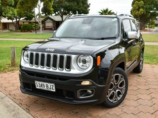 2015 Jeep Renegade BU MY15 Limited DDCT Blak/leather 6 Speed Sports Automatic Dual Clutch Hatchback.