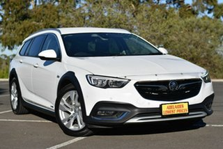 2017 Holden Calais ZB MY18 Tourer AWD White 9 Speed Sports Automatic Wagon.