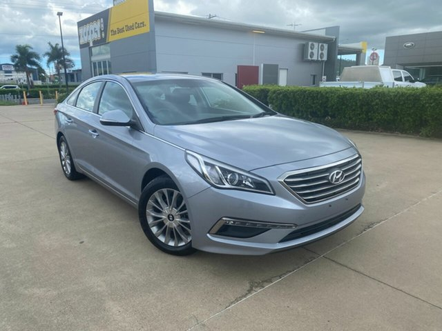Used Hyundai Sonata LF3 MY17 Active Townsville, 2016 Hyundai Sonata LF3 MY17 Active Grey/301216 6 Speed Sports Automatic Sedan