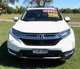 2017 Honda CR-V RW MY18 VTi-LX 4WD White 1 Speed Constant Variable Wagon.
