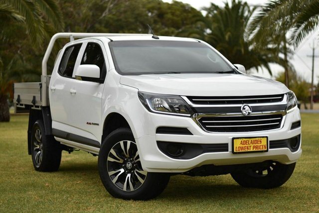 Used Holden Colorado RG MY17 LS Crew Cab Cheltenham, 2017 Holden Colorado RG MY17 LS Crew Cab White 6 Speed Sports Automatic Cab Chassis