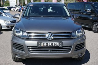 2012 Volkswagen Touareg 7P MY13 V6 TDI Tiptronic 4MOTION Grey 8 Speed Sports Automatic Wagon.