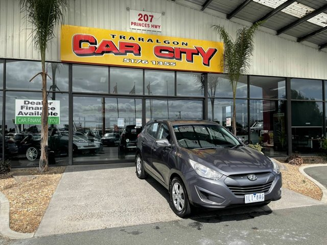 Used Hyundai ix35 LM MY11 Active (FWD) Traralgon, 2011 Hyundai ix35 LM MY11 Active (FWD) Grey 6 Speed Automatic Wagon