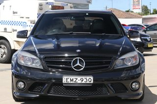 2009 Mercedes-Benz C-Class W204 C63 AMG Black 7 Speed Sports Automatic Sedan