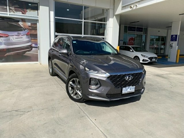 Used Hyundai Santa Fe TM MY19 Highlander Ravenhall, 2018 Hyundai Santa Fe TM MY19 Highlander Grey 8 Speed Sports Automatic Wagon