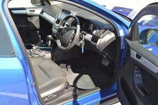 2012 Ford Falcon FG MkII XR6 Ute Super Cab Blue 6 Speed Sports Automatic Utility
