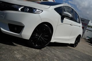 2016 Honda Jazz GF MY17 Limited Edition White 1 Speed Constant Variable Hatchback.
