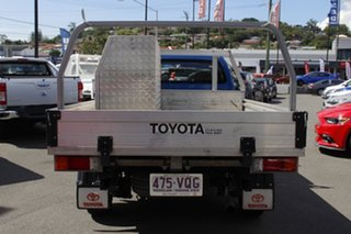 2015 Toyota Hilux TGN121R Workmate 4x2 Blue 5 Speed Manual Cab Chassis
