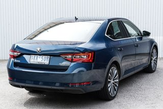 2015 Skoda Superb NP MY16 140TDI Sedan DSG Blue 6 Speed Sports Automatic Dual Clutch Liftback.