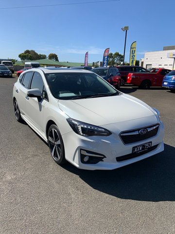 Used Subaru Impreza G5 MY18 2.0i-S CVT AWD Warrnambool East, 2018 Subaru Impreza G5 MY18 2.0i-S CVT AWD White 7 Speed Constant Variable Hatchback