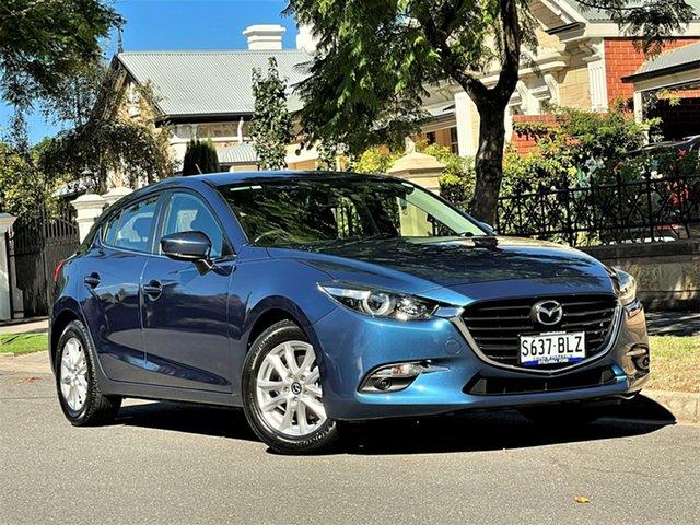 Used Mazda 3 BN5478 Maxx SKYACTIV-Drive Hyde Park, 2016 Mazda 3 BN5478 Maxx SKYACTIV-Drive Blue 6 Speed Sports Automatic Hatchback