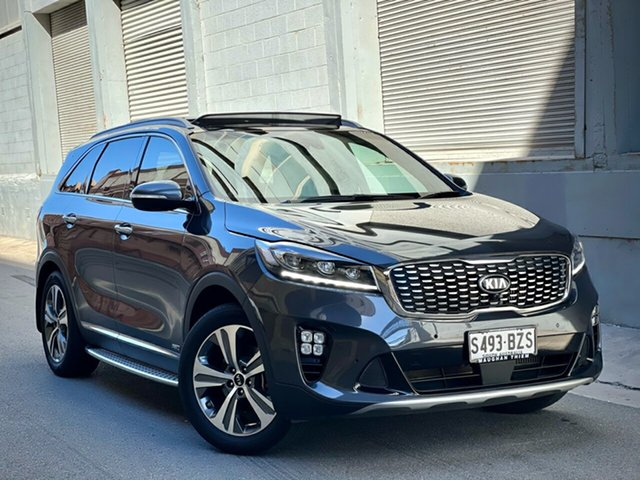 Used Kia Sorento UM MY19 GT-Line AWD Cheltenham, 2019 Kia Sorento UM MY19 GT-Line AWD Graphite 8 Speed Sports Automatic Wagon