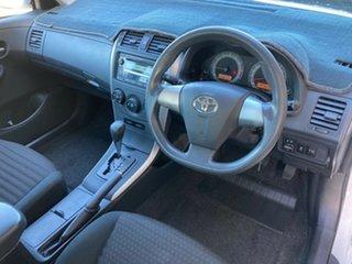 2010 Toyota Corolla ZRE152R MY10 Ascent Glacier White 4 Speed Automatic Sedan.