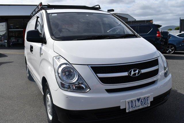 Used Hyundai iLOAD TQ2-V MY14 Wantirna South, 2014 Hyundai iLOAD TQ2-V MY14 White 5 Speed Automatic Van