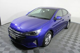 2020 Hyundai Elantra AD.2 MY20 Active Blue 6 Speed Sports Automatic Sedan