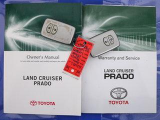 2014 Toyota Landcruiser Prado KDJ150R MY14 GXL (4x4) White 6 Speed Manual Wagon