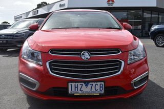 2016 Holden Cruze JH Series II MY16 Z-Series Red/Black 6 Speed Sports Automatic Sedan