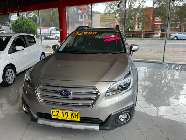 Used Subaru Outback B6A MY17 2.5i CVT AWD Premium Artarmon, 2017 Subaru Outback B6A MY17 2.5i CVT AWD Premium Gold 6 Speed Constant Variable Wagon