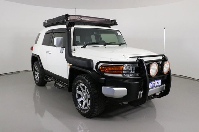Used Toyota FJ Cruiser GSJ15R MY14 Bentley, 2015 Toyota FJ Cruiser GSJ15R MY14 White 5 Speed Automatic Wagon