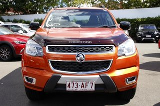 2015 Holden Colorado RG MY16 Z71 Crew Cab Orange 6 Speed Sports Automatic Utility.