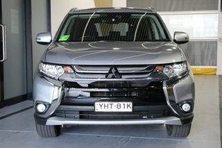 2017 Mitsubishi Outlander ZK MY17 LS (4x2) Blade Silver Continuous Variable Wagon