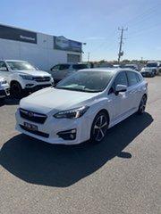 2018 Subaru Impreza G5 MY18 2.0i-S CVT AWD White 7 Speed Constant Variable Hatchback.