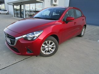 2018 Mazda 2 DJ2HAA Maxx SKYACTIV-Drive Red 6 Speed Sports Automatic Hatchback.