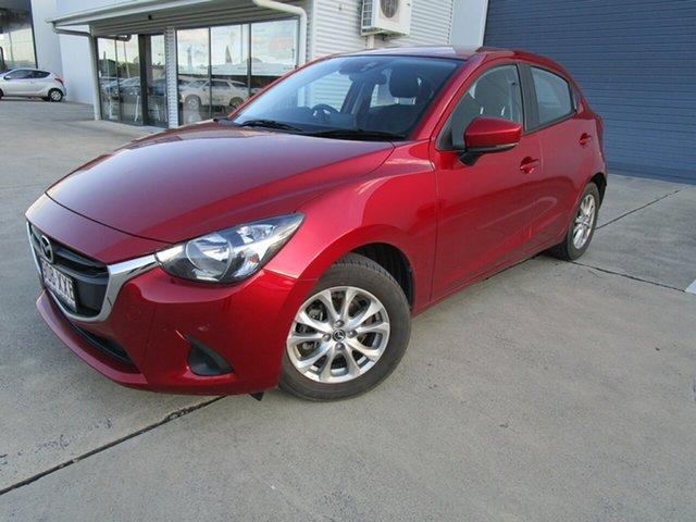 Used Mazda 2 DJ2HAA Maxx SKYACTIV-Drive Caboolture, 2018 Mazda 2 DJ2HAA Maxx SKYACTIV-Drive Red 6 Speed Sports Automatic Hatchback