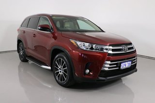 2018 Toyota Kluger GSU55R MY17 Grande (4x4) Red 8 Speed Automatic Wagon.