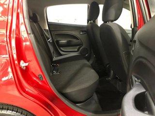 2015 Mitsubishi Mirage LA MY15 ES Red 1 Speed Constant Variable Hatchback