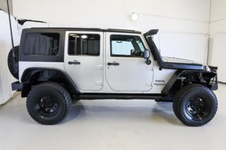 2011 Jeep Wrangler JK MY2011 Unlimited Sport Silver 4 Speed Automatic Softtop