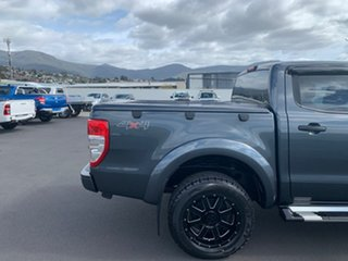 2014 Ford Ranger PX XLS Double Cab Grey 6 Speed Sports Automatic Utility