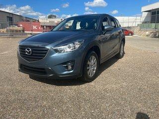 2015 Mazda CX-5 MY13 Upgrade Maxx Sport (4x2) Blue 6 Speed Automatic Wagon