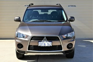 2011 Mitsubishi Outlander ZH MY11 LS 2WD Bronze 6 Speed Constant Variable Wagon.