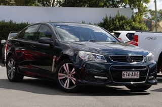 2013 Holden Commodore VF MY14 SV6 Green 6 Speed Manual Sedan.